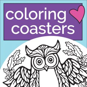Coloring Coasters